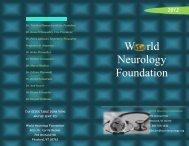 W rld Neurology Foundation - World Neurology Foundation