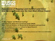 Experiences of Mapping Land Use and Land Cover And Deriving ...