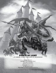 POINTS OF LIGHT - Goodman Games