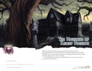 The Haunting of Kincep Mansion - Wizards of the Coast