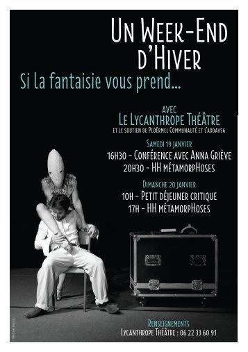 Un Week-End d'Hiver - Le Lycanthrope Théâtre