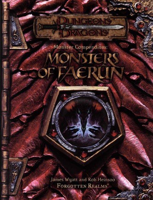 Monsters of Faerûn pdf - Lski org
