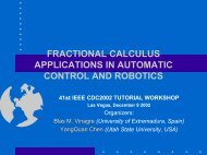 fractional calculus applications in automatic control and robotics
