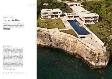 The-Caribbean-Property-Investor-Issue-3-Luxury ... - Villa Aquamare