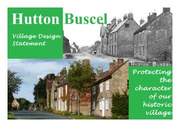 Hutton Buscel Village Design Statement - North York Moors National ...