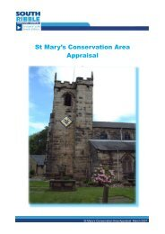 St Mary's Conservation Area Appraisal - South Ribble Borough ...
