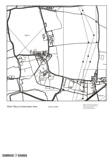 Plan for West Tilbury Conservation Area - Thurrock Council