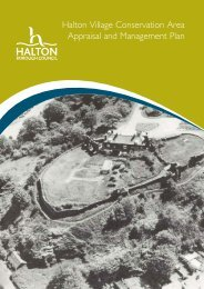 Halton Village Conservation Area Appraisal And Management Plan