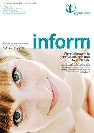 inform Nr. 5 Dezember 2009 - Physio Austria