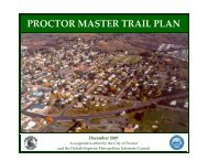 proctor master trail plan - Duluth-Superior Metropolitan Interstate ...
