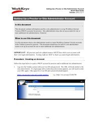 Setting Up a Proctor or Site Administrator Account - ACT