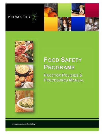 Food Safety Proctor Manual - Prometric