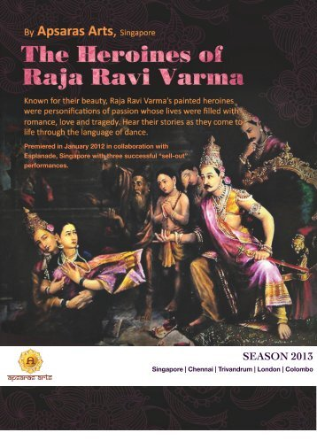 The Heroines of Raja Ravi Varma by Apsaras Arts ... - Narthaki