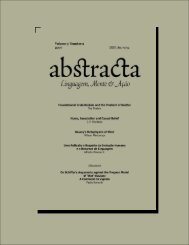 Complete Issue in PDF - ABSTRACTA - Revista de Filosofia