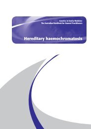 13 - Hereditary haemochromatosis - National Health and Medical ...