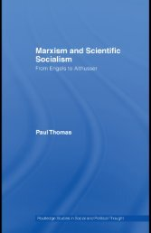 Marxism and Scientific Socialism: From Engels to ... - Index of - Free
