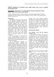[BIO39] Application of cucumber green mottle mosaic virus ... - USM