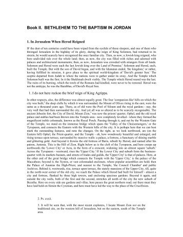 Life & Times of Jesus-Edersheim-2. - The Bible Project