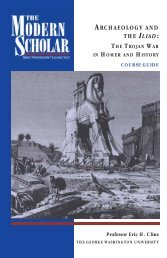 The Trojan War in Homer and History - Recorded Books