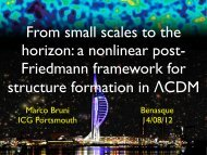 a nonlinear post-Friedmann framework for structure formation in LCDM