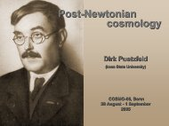 Post-Newtonian cosmology - cosmo 05