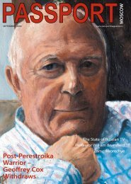 Post-Perestroika Warrior - Passport magazine