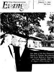 The Pentecostal - Flower Pentecostal Heritage Center