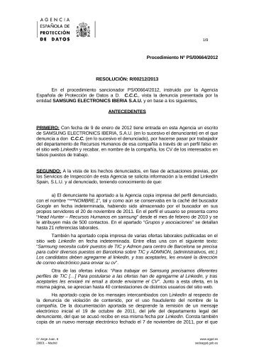 PS-00664-2012_Resolucion-de-fecha-12-03-2013_Art-ii-culo-6-LOPD