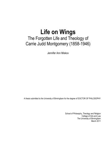 Life on Wings - eTheses Repository - University of Birmingham