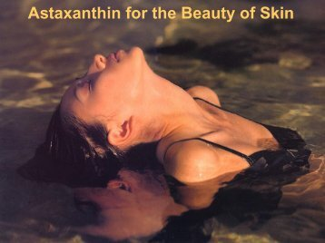 Astaxanthin for the Beauty of Skin - DermiHealth Pro