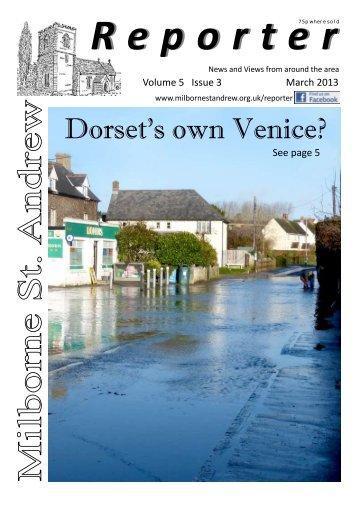 2013-03 - Milborne St Andrew Village Website