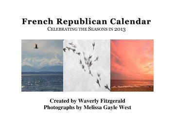 French Republican Calendar - Living in Season