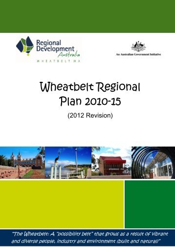 Strategic Regional Plan - RDA Wheatbelt