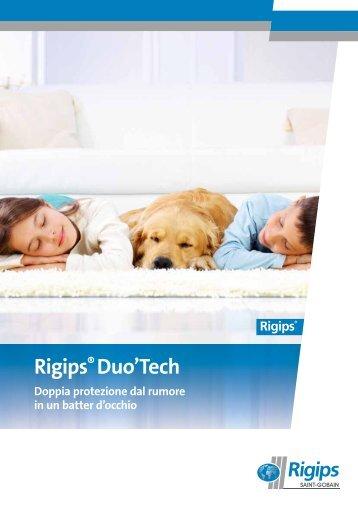 Pannelli compositi Rigips® Duo'Tech. Potete scegliere.