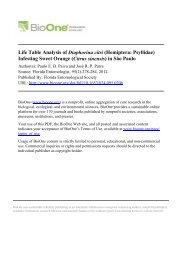 Life Table Analysis of Diaphorina citri (Hemiptera: Psyllidae ...