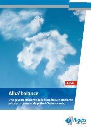 Alba®balance - Rigips