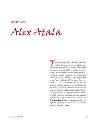 Interview: Alex Atala
