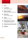 Viborgs klippe Pico de Teide Canadisk is Røde sandsten - Page 4
