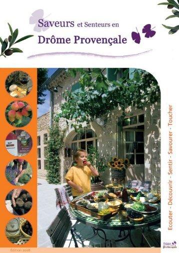 Guide des saveurs de la Drôme Provençale