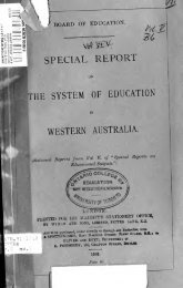 Special reports on educational subjects. Vol. 5. --