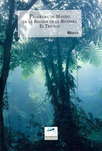 El Triunfo - Comisión Nacional de Áreas Naturales Protegidas