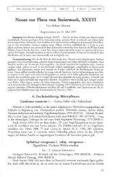 Neues zur Flora von Steiermark, XXXVI