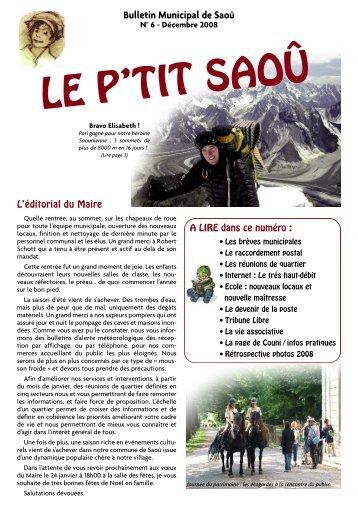 Mise en page 1 - Saou.fr