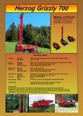 Herzog Grizzly 700 HERZOG Forsttechnik AG - Seite 2