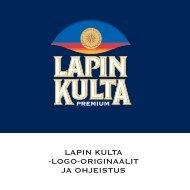 LAPIN KULTA -LOGO-ORIGINAALIT JA OHJEISTUS - Re