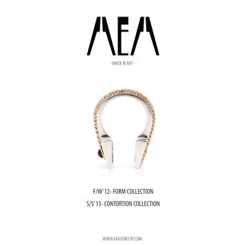 Lookbook - AEA Jewelry