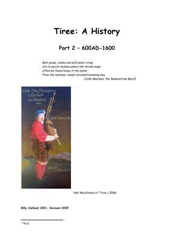 Tiree: A History - Isle of Tiree Genealogy