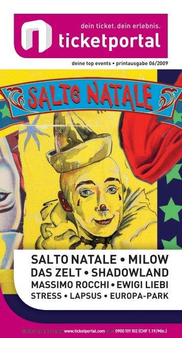 SalTo NaTale • MIlow - ShoWare Admin - Login