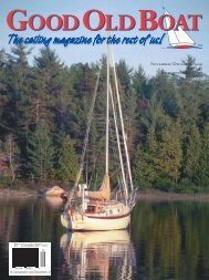 The sailing magazine for the rest of us! - Good Old Boat Magazine