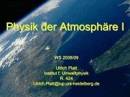 Vertical stability - Institut für Umweltphysik